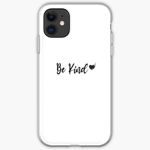 be kind, be kind woman, be kind man, be kind to everyone iPhone Soft Case