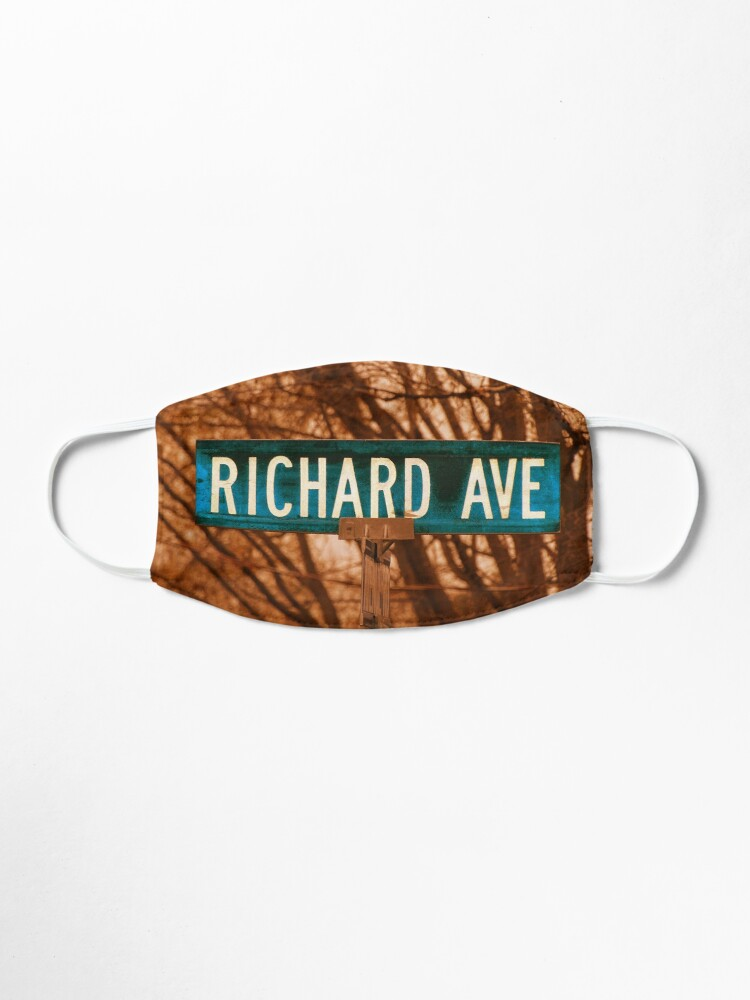 Alternate view of Richard, Richard mask, Richard socks Mask