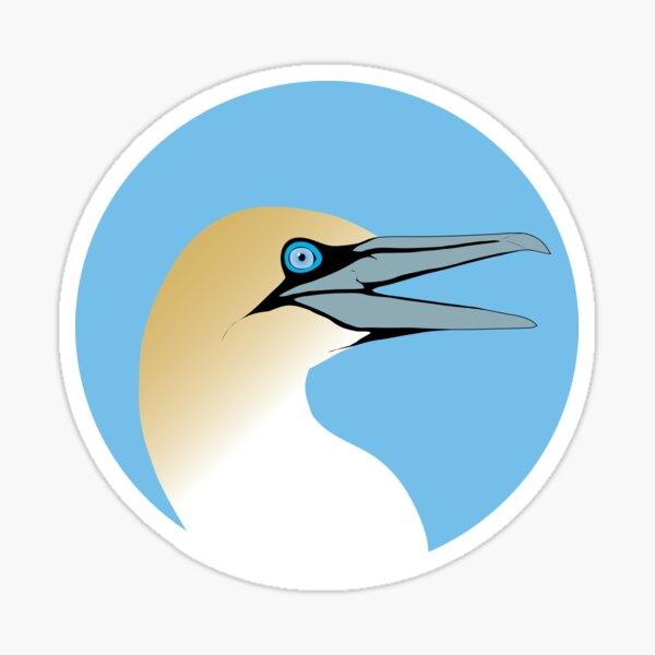 Northern Gannet head Sticker