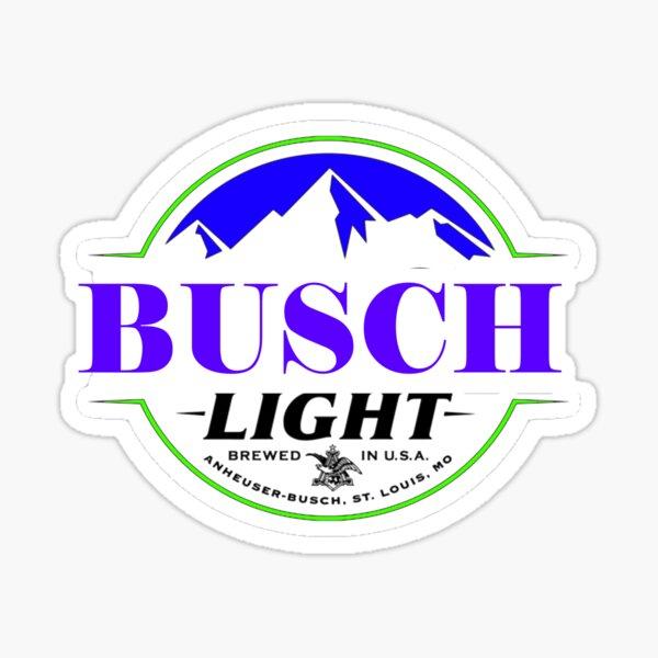 busch light matter sticker Sticker