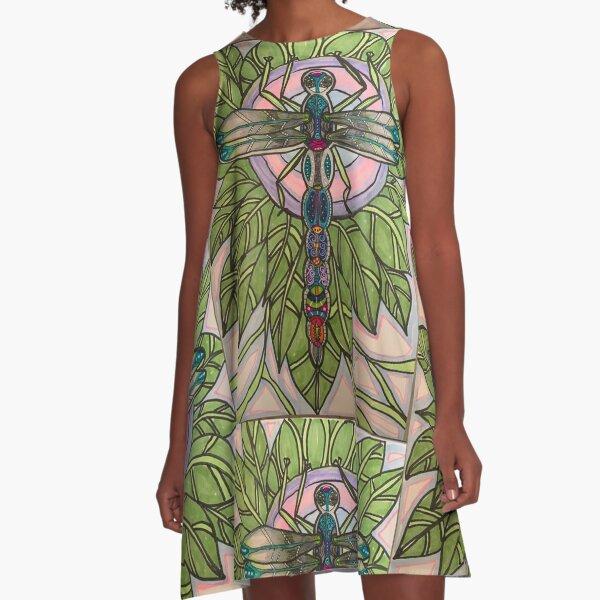 Spiritual Awakening  A-Line Dress