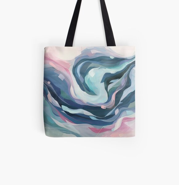 In the arms of an angel All Over Print Tote Bag