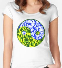 YUNG YIN and YANG Women's Fitted Scoop T-Shirt
