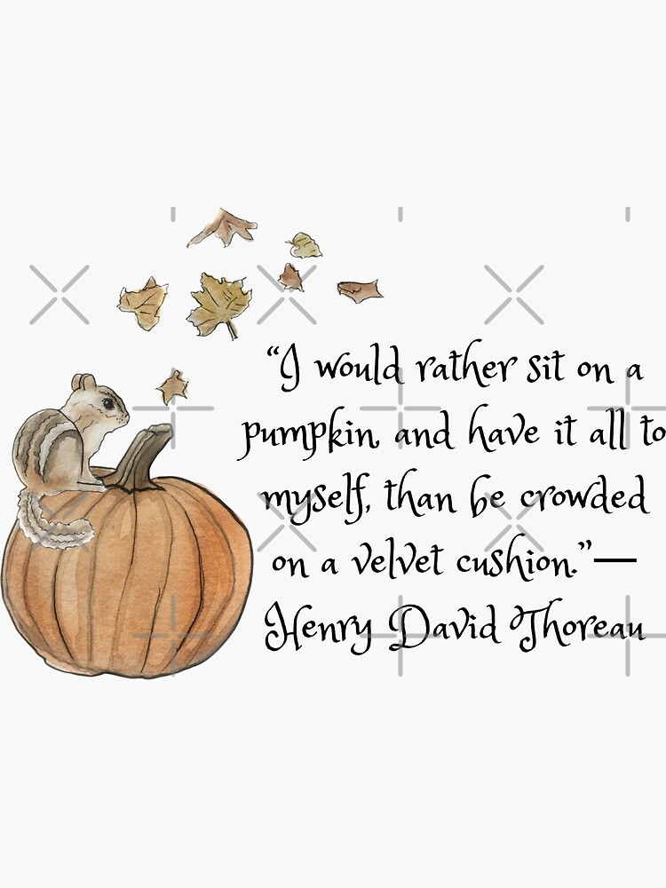 """""""I Would Rather Sit on a Pumpkin"""" Illustration in Watercolor by WitchofWhimsy"""
