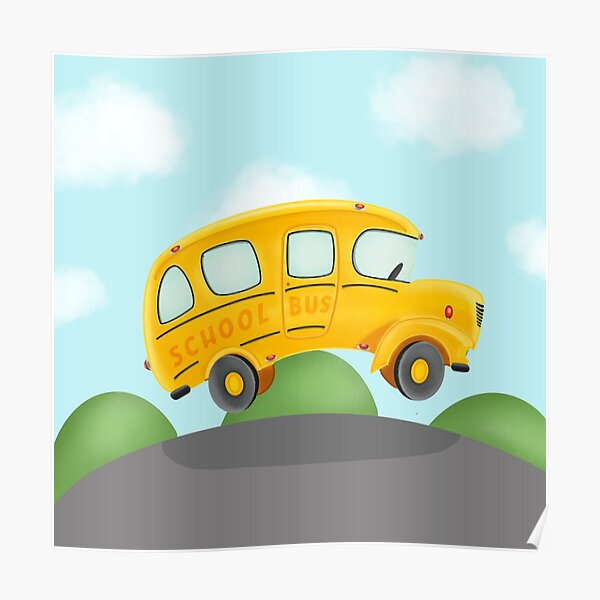 Wheels on the Bus Poster