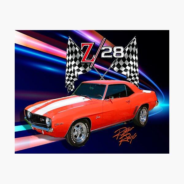 Classic 69 Z 28 Camaro  Photographic Print