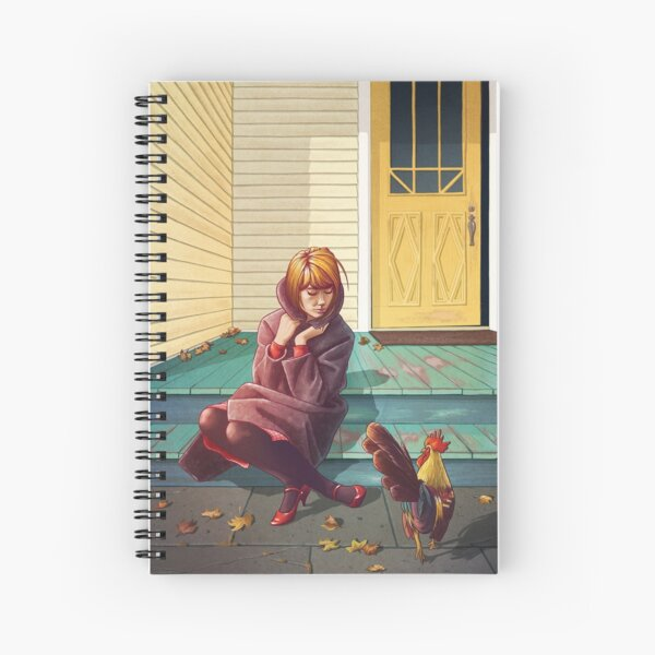 Who's that chick? Spiral Notebook