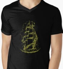 ships-ahoy Men's V-Neck T-Shirt