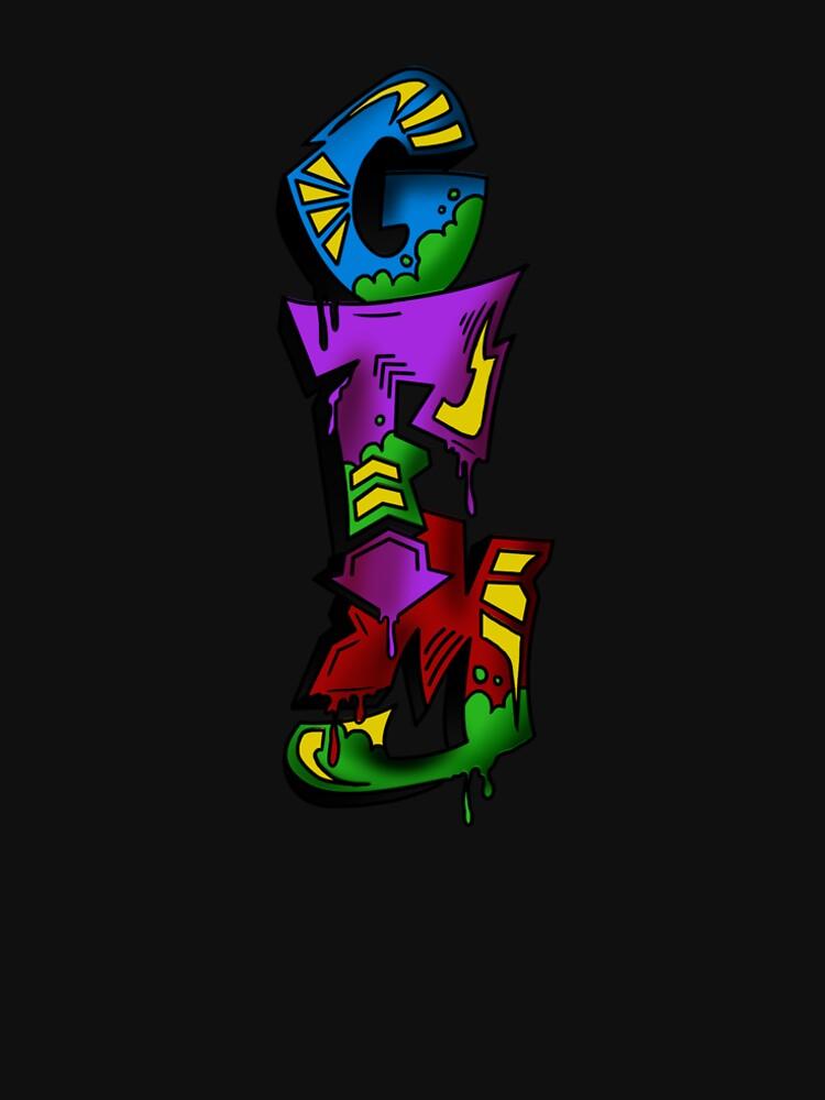 GFM Graffiti Logo by GFMModern