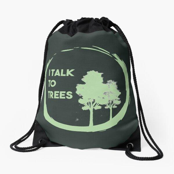 Ich rede mit Bäumen Turnbeutel