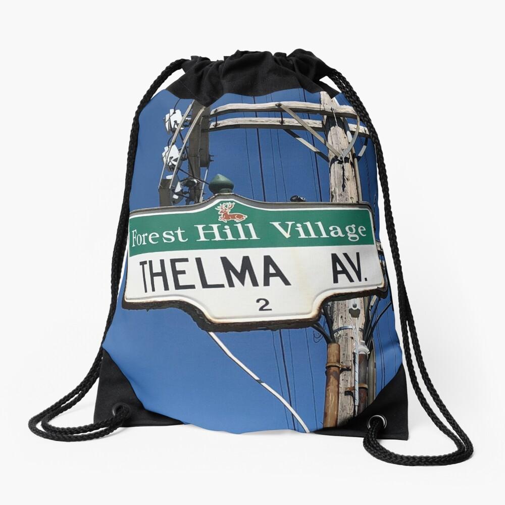 Thelma, Thelma socks, Thelma greeting card, Thelma mask,  Drawstring Bag