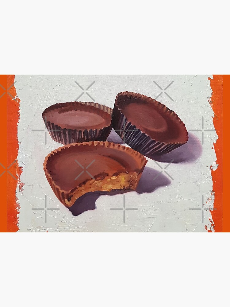 Peanut Butter Cups painting by EmilyBickell