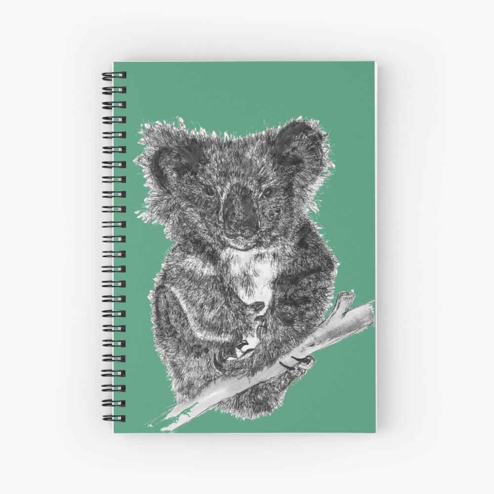 Stephanie the Koala  Spiral Notebook