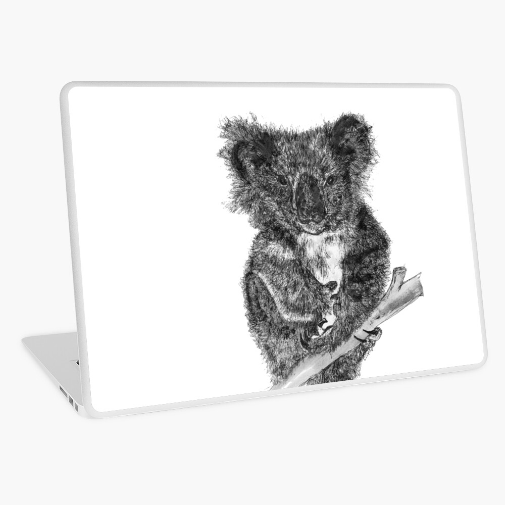 Stephanie the Koala  Laptop Skin
