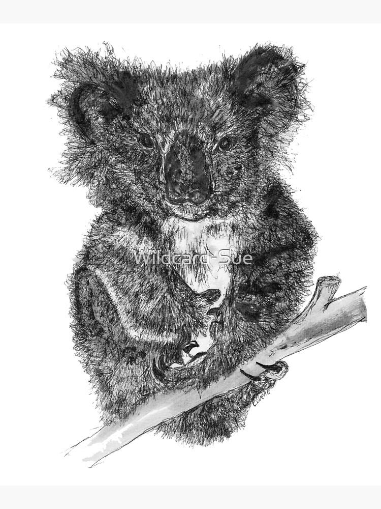 Stephanie the Koala  by Wildcard-Sue