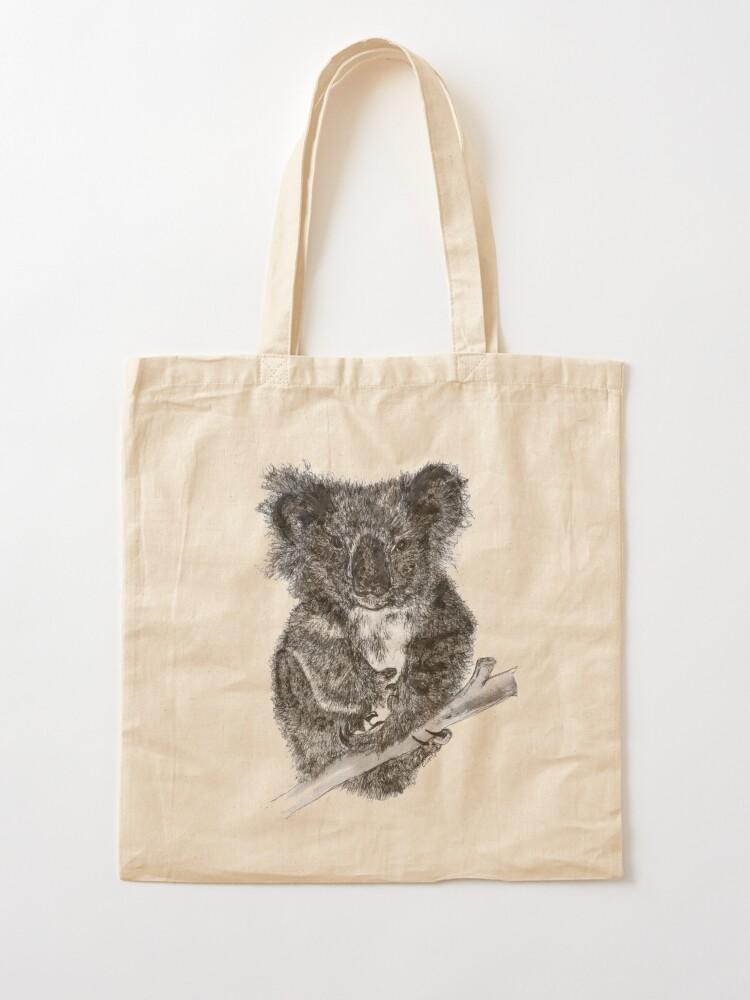 Alternate view of Stephanie the Koala  Tote Bag