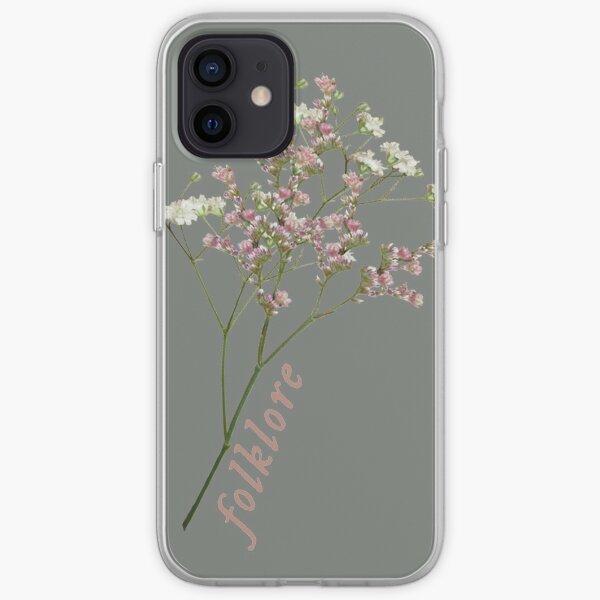 fleurs folkloriques Coque souple iPhone