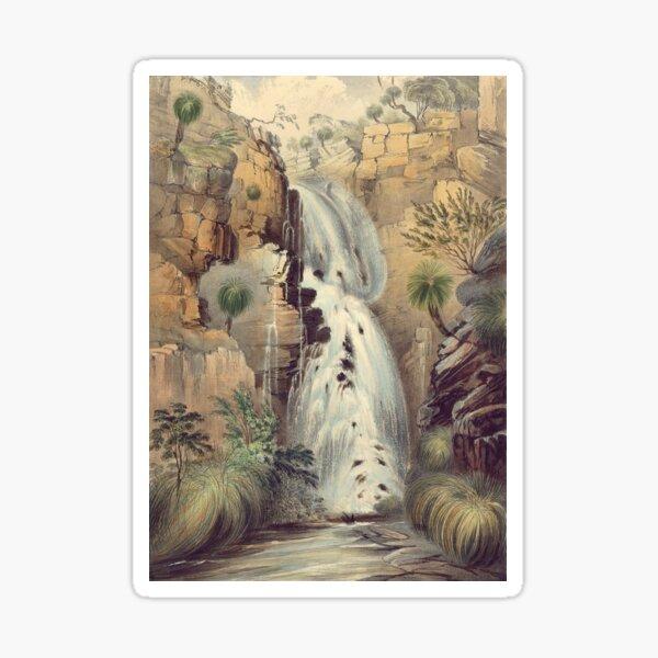 Lower falls of Glen Stuart  Sticker