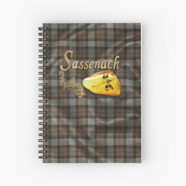 Sassenach, Dragonfly in amber (Outlander) Cuaderno de espiral