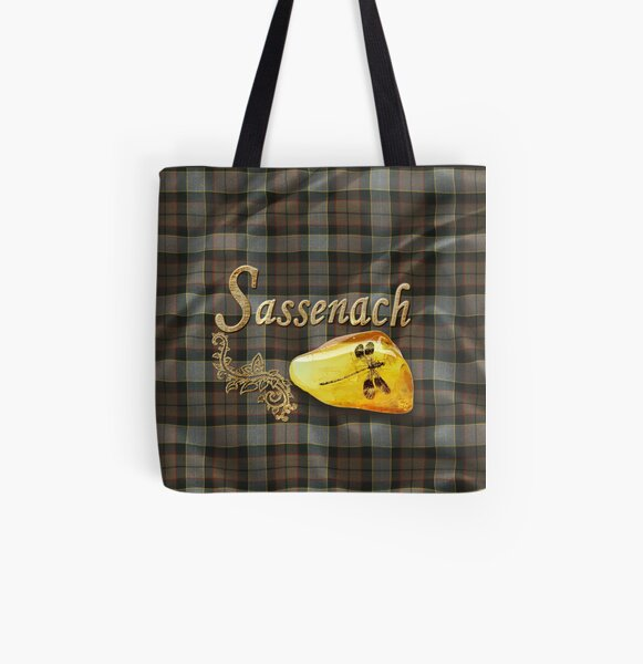 Sassenach, Outlander All Over Print Tote Bag