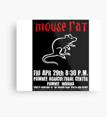 Mouse Rat Concert Poster Metal Print