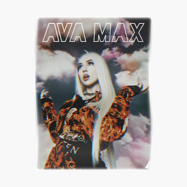 Ava Max Heaven and Hell album Poster
