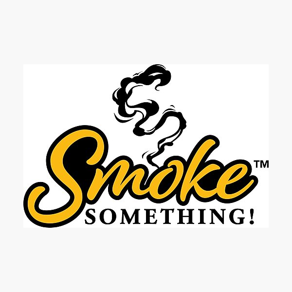 Meat Smokers Smoke Something! Design Photographic Print