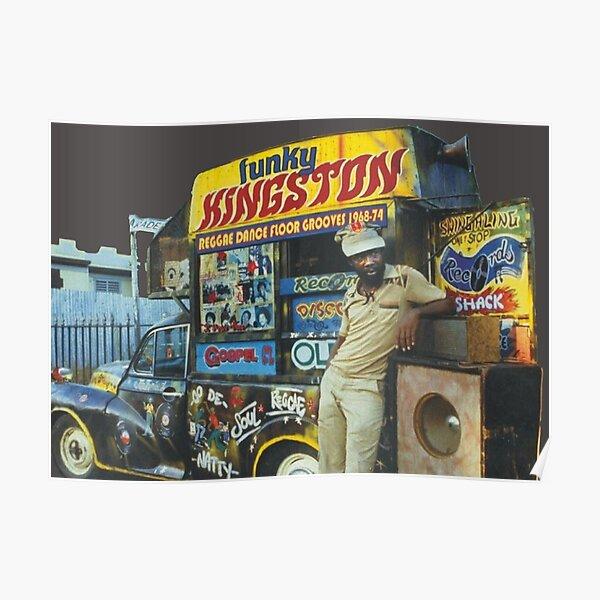 Système de son Reggae Jamaica Poster