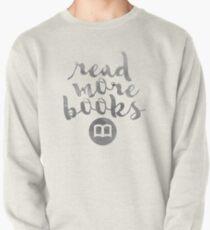 READ MORE BOOKS (SILVER) Pullover