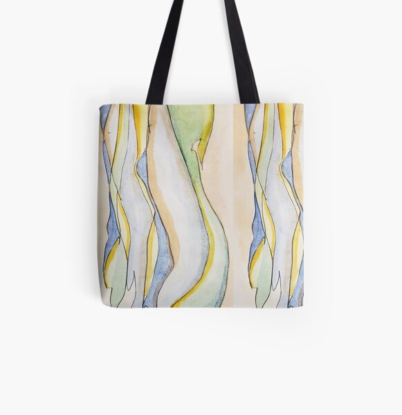 Fluid All Over Print Tote Bag