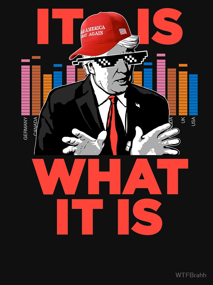 It Is What It Is Trump Rap WTFBrahh by WTFBrahh