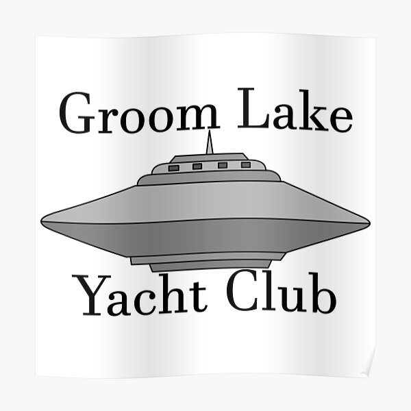 Groom Lake Yacht Club Poster