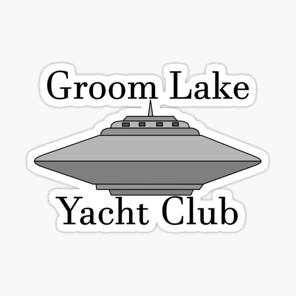Groom Lake Yacht Club Sticker