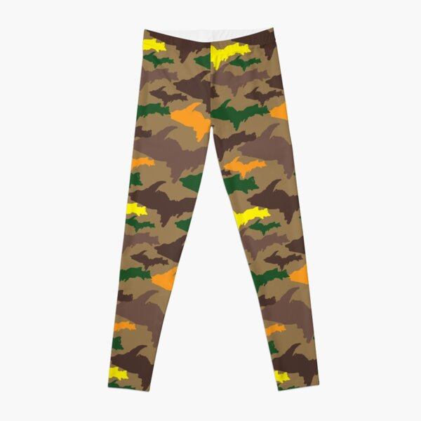 FALL Yooper Camouflage Leggings