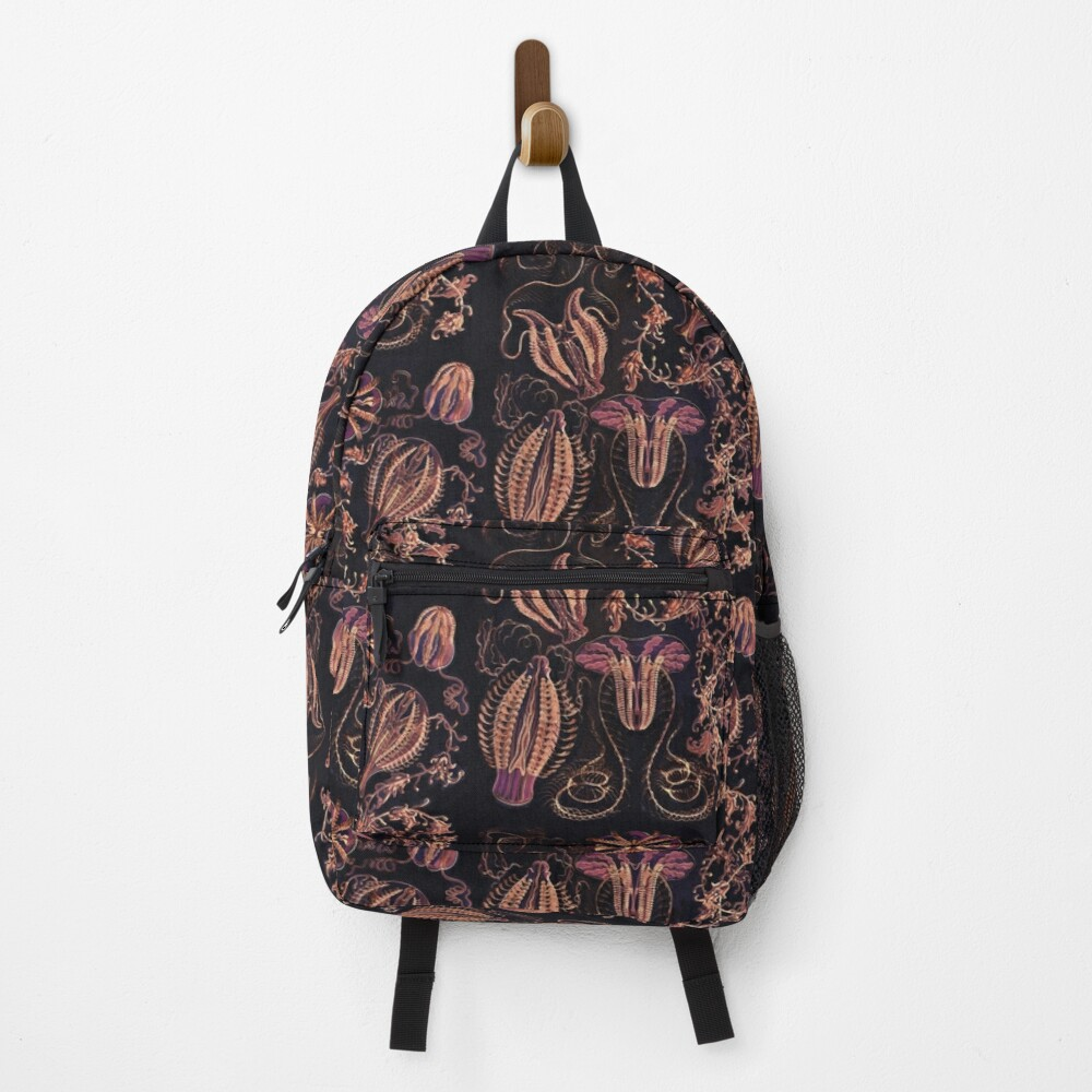 Ctenophorae and Comb Jelly in Harvest Colors  Backpack