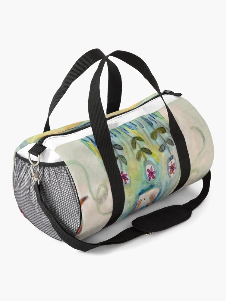 Alternate view of Introspection (rectangular) Duffle Bag