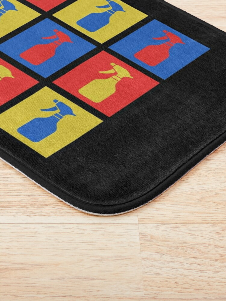 Alternate view of Andy SprayAll Creative Artistic Cleaning Humor Bath Mat