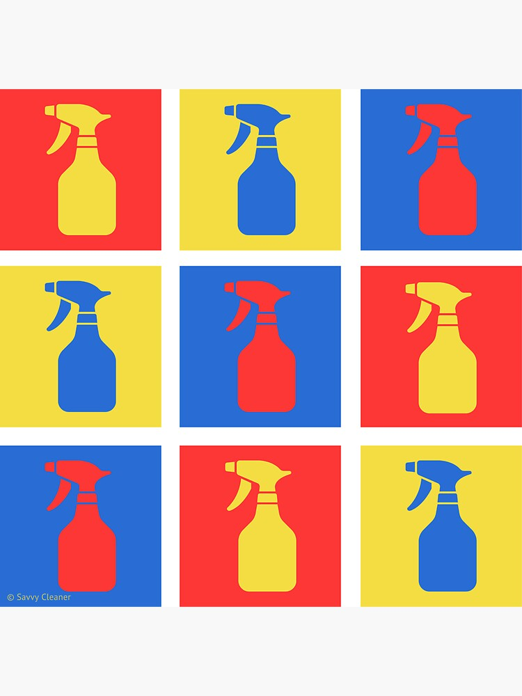 Andy SprayAll Creative Artistic Cleaning Humor by SavvyCleaner