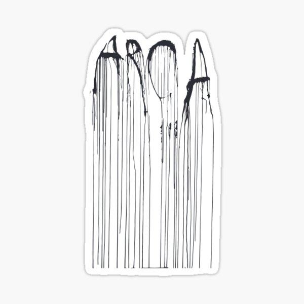 Arca Signature Sticker