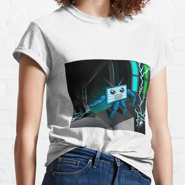 Electronic World Z - DGIN TV Main Character Classic T-Shirt