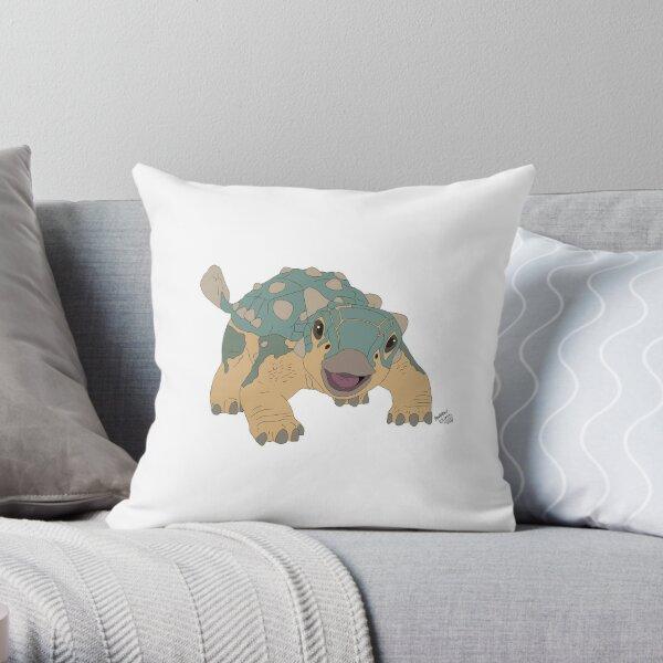 Jurassic Bumpy Throw Pillow