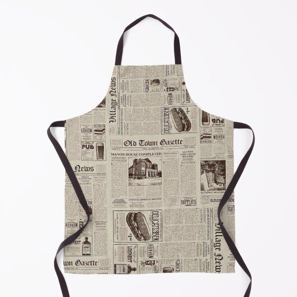 Newsprint  Apron