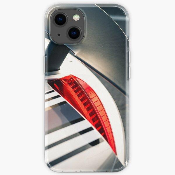 Porsche 918 Spyder Detail Shot iPhone Soft Case
