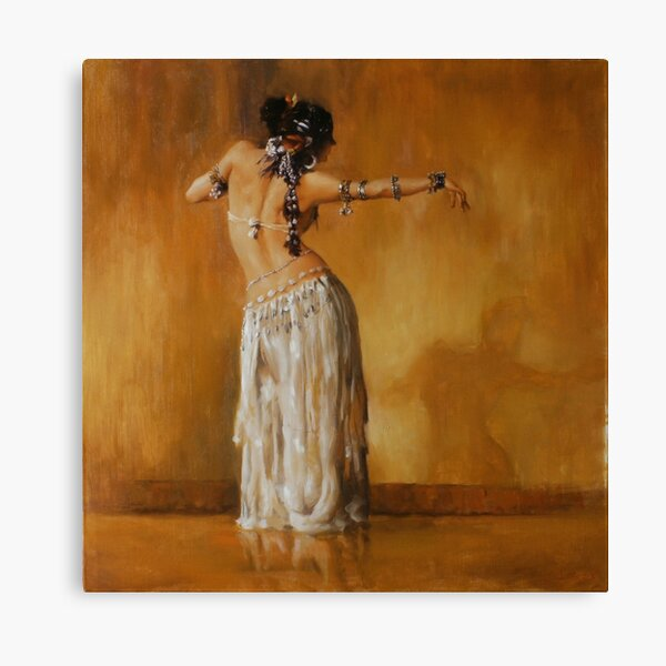 Shadow Dance Canvas Print