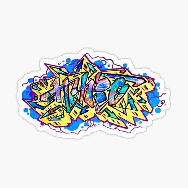 Hypo graffiti style2 Sticker