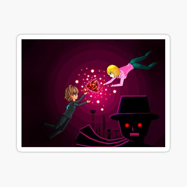 Rescue Rina Game Cover Sticker