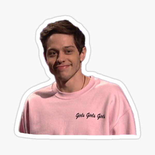 Pete in Pink Sticker
