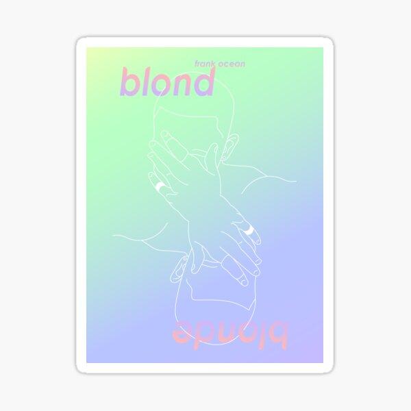 Frank Ocean Blonde Poster Sticker