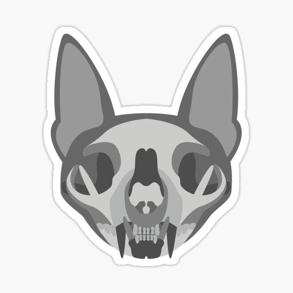 A Bone to Pick - Greyscale Sticker