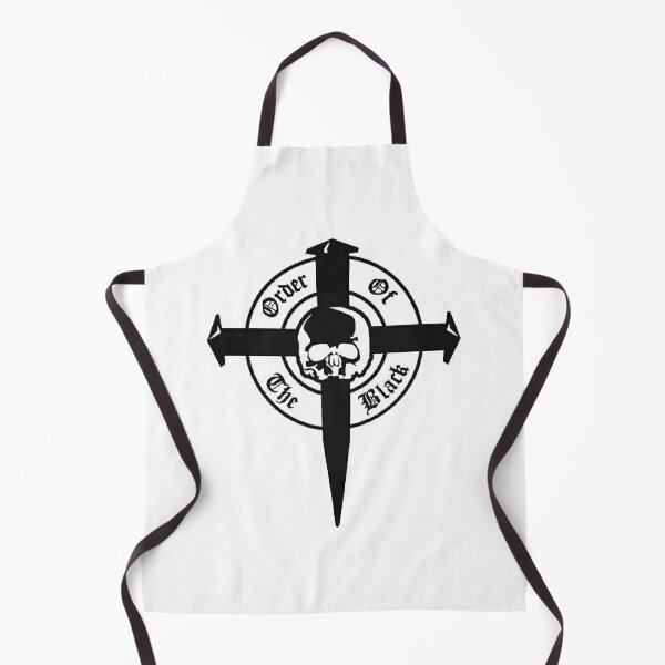 Black Label Society Order Of Black Skull Apron